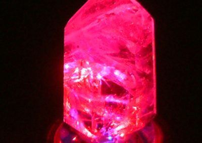 Crystal LED Lamp Red