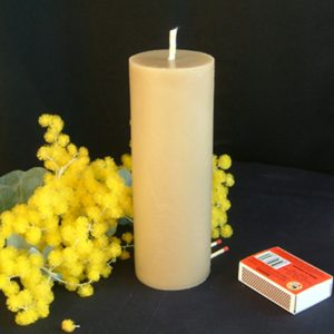 Beeswax Candle Tall Pillar