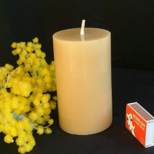 Bees Honey Beeswax Candle Large