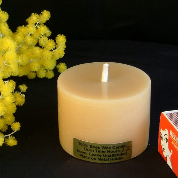 Bee Honey Beeswax Candle