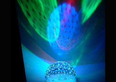 Crystal Ball LED Lamp